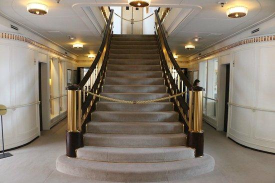 Royal Yacht Britannia: Staircase