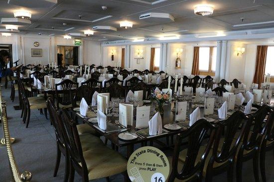 Royal Yacht Britannia: Dining Room