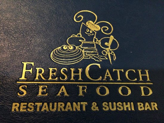 Fresh Catch: Menu Cover