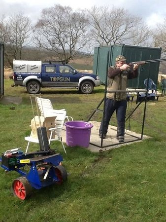 Top Gun Paintball and Clay Shooting: clay shooting