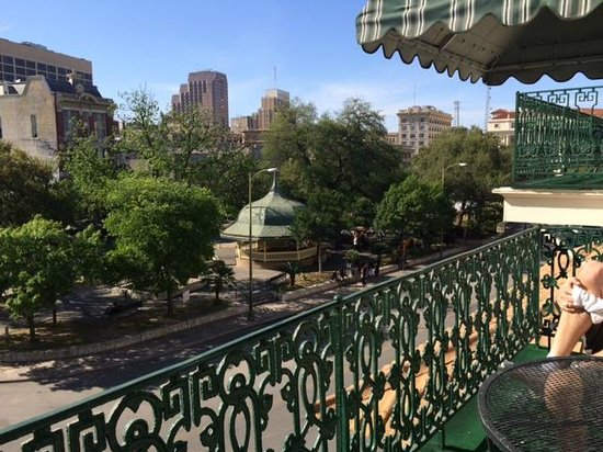 Menger Hotel: View from our room