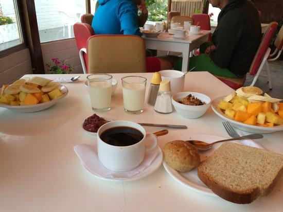 Plantas & Blanco's Hostel : Desayuno