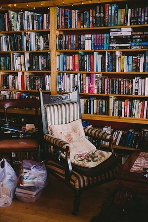 The Hungry Bookworm: Lovely Seat for Reading