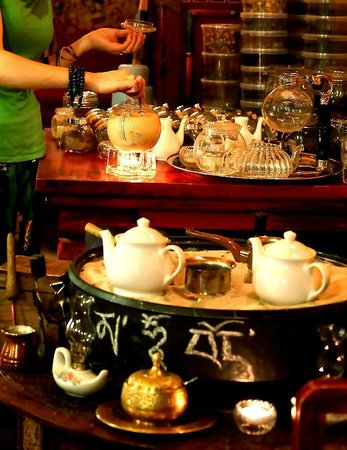 Tibet Gimalai: Чайное Место !
