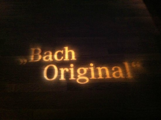 Bach-Museum: 1st floor