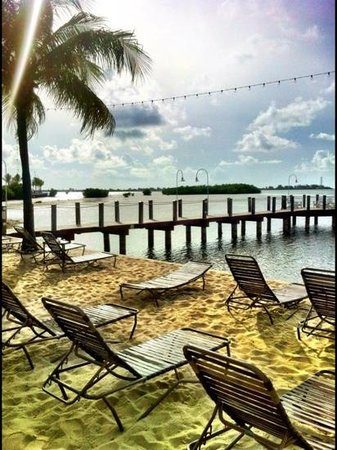 Key West Marriott Beachside Hotel : beach part