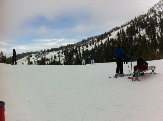 Mammoth Mountain Inn: Out on the mountain