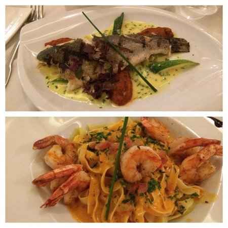 Bistrot Caraibes: Main courses
