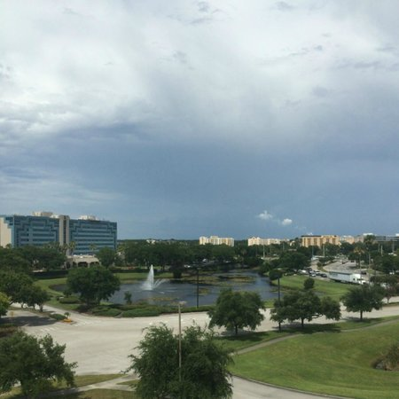 Country Inn & Suites By Carlson, Orlando Airport: View from room window