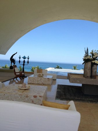 Marquis Los Cabos All-Inclusive Resort & Spa: View from Lobby