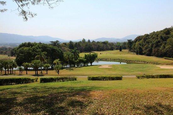 Wiang Chiang Rung, Tailandia: ゴルフコース風景