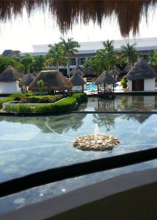 Grand Riviera Princess All Suites Resort & Spa: Balcony view from the Laguna Villas.