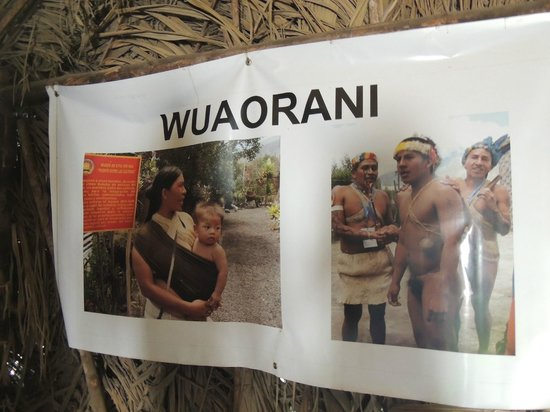 Intinan Museum: Photo of Amazonian Tribe that Visited this Museum