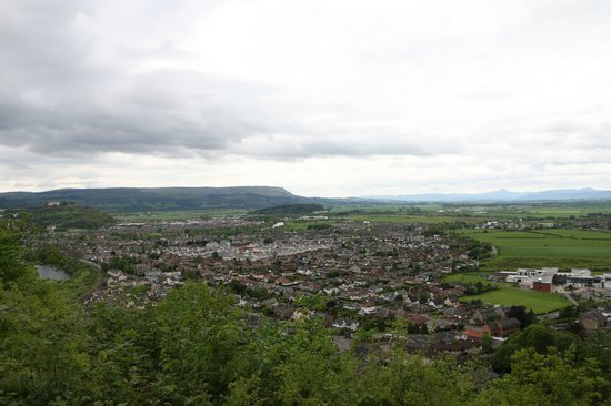 The Hairy Coo - Free Scottish Highlands Tour : View from Wallace monument