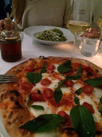 Pizza Arte: excelent pizza