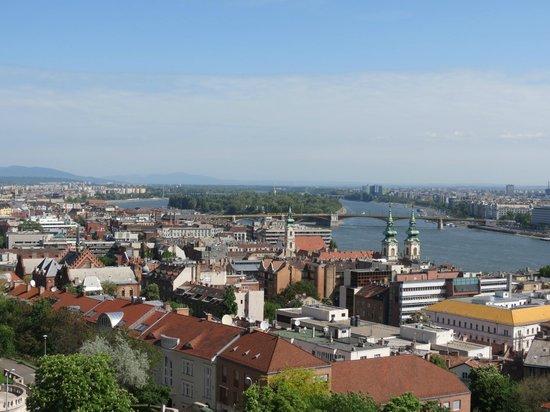 Bastion des pêcheurs : Margit Bridge and Island