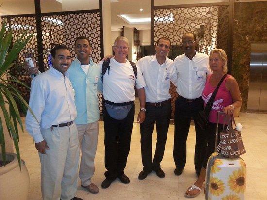 The Three Corners Royal Star Beach Resort: Sweet staff from Royal star