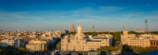 Círculo de Bellas Artes: Palacio de Comunicaciones viewed Bellas Artes Tower - Madrid Spain
