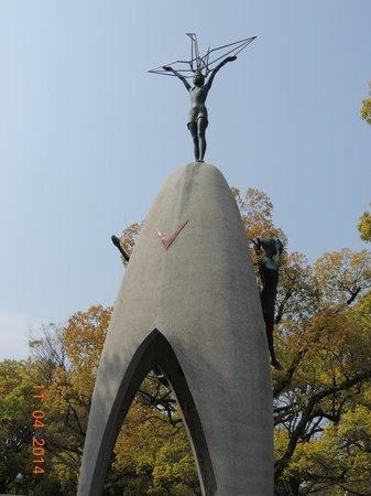Hiroshima Peace Memorial Park : Monumento das Crianças da Paz