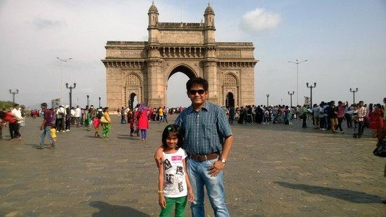 Gateway of India : Myself and my kid