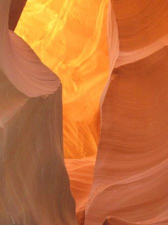 Amazing colors of the Lower Antelope Canyon