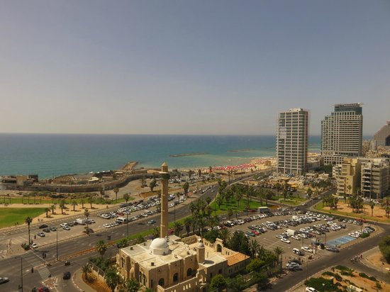 InterContinental David Tel Aviv: View from our room!