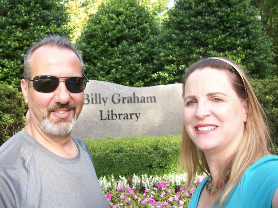 The Billy Graham Library: Entrance to Library