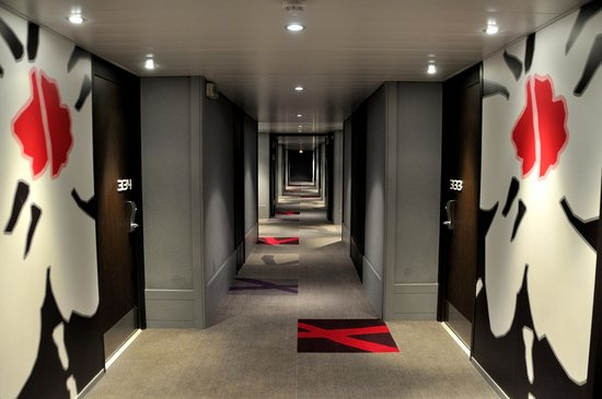 Mercure Nice Promenade des Anglais: Hallway