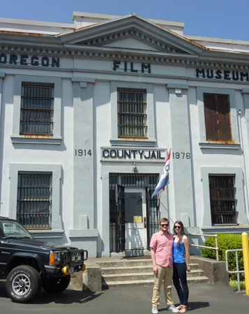 Oregon Film Museum : Welcome to jail