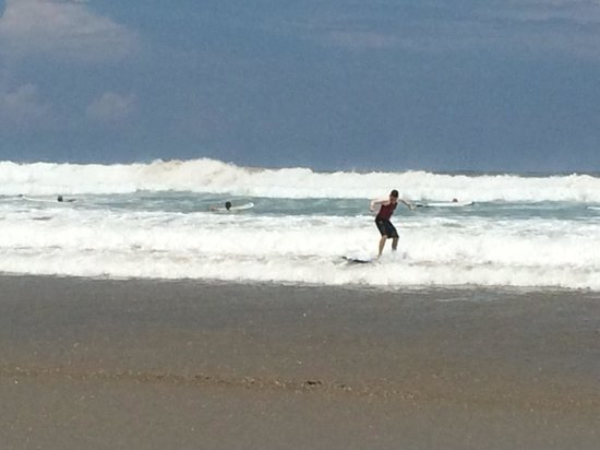 Surf in playa hermosa , may 2014