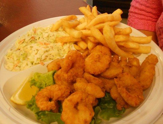 Beach to Bay Seafood: Whole Medium Fried Shrimp Platter