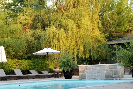 Langdon Hall Country House Hotel & Spa : Poolside bliss