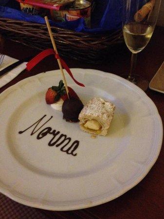 Gran Hotel Ciudad de Mexico: My welcome treat!