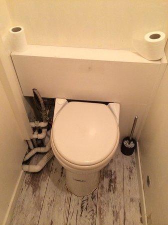 Chanteclair: Toilet