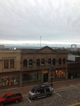 Sheraton Duluth Hotel: View from the room