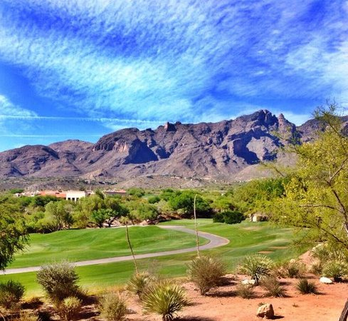 Westin La Paloma Resort and Spa: View from our balcony