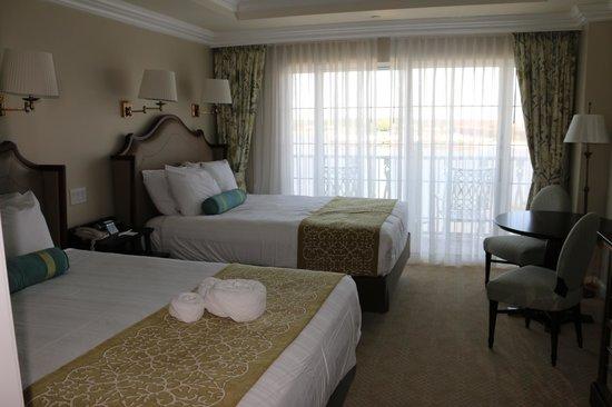 Disney's Grand Floridian Resort & Spa: Second Bedroom - 2 Queen Beds