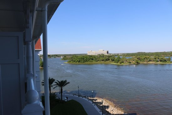 Disney's Grand Floridian Resort & Spa : View from Balcony