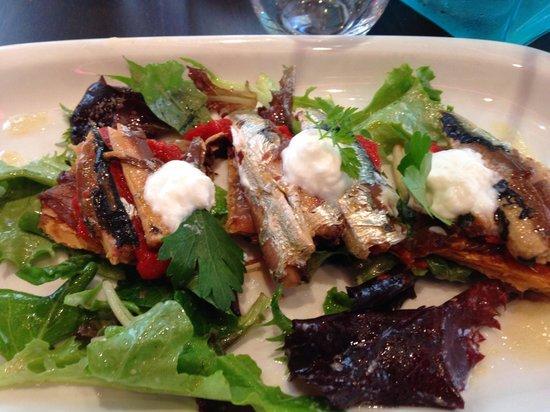 Chez Calde: Tarte Sardine