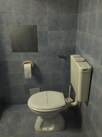 Hotel Adriatic : Toilet