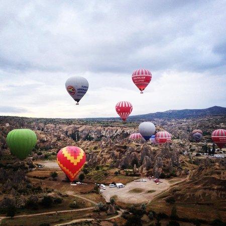 Kapadokya Balloons: View from the top
