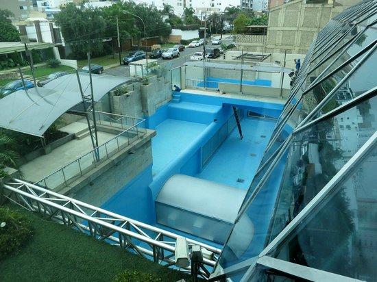 Delfines Hotel & Casino : Former dolphin pool