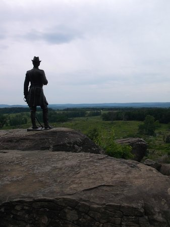 Gettysburg Museum and Visitor Center : Little Round Top