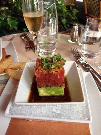 Brasserie Ruhlmann: le tartare de thon