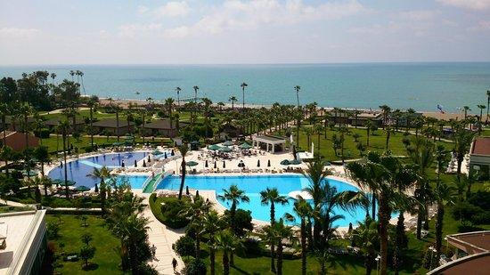 IC Hotels Santai: Вид с номера на 6 таже