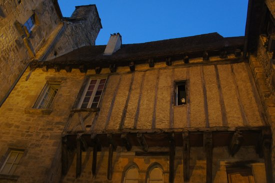 Les Cordeliers Bed and Breakfast: Le chat in the window at Sarlat!