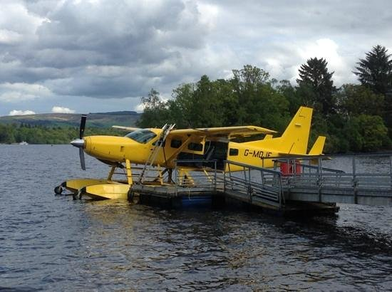 Cameron House on Loch Lomond : sea plane