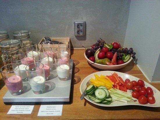 Klosterhagen Hotel : Home made yogurts.