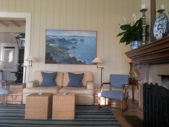 The Lodge at Kauri Cliffs: The sitting room