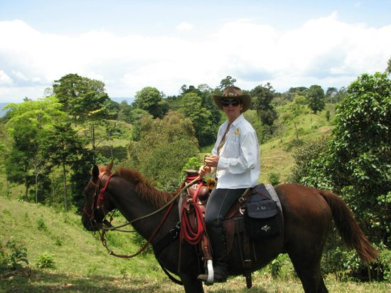 Panama Horseback Adventures: On the trail